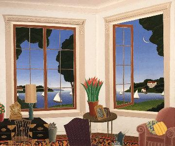 Northshore 33x37 Original Painting - Thomas Frederick McKnight