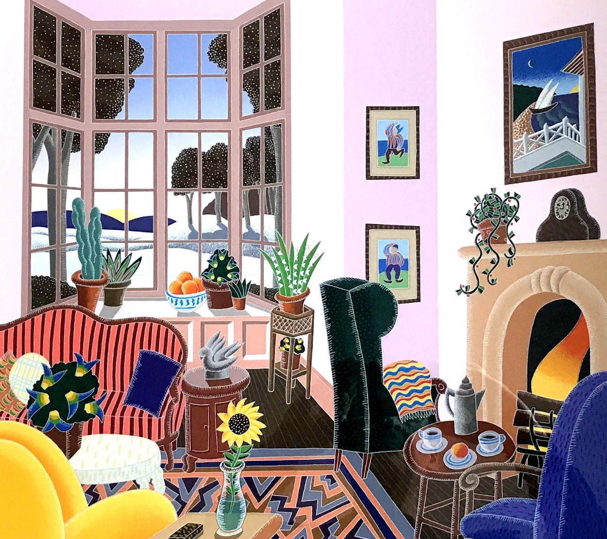 New England Revisited  Suite: Concord 1991 Limited Edition Print by Thomas Frederick McKnight