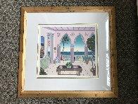 Palm Beach Suite 2 - Villa Laguna - 1991 Limited Edition Print by Thomas Frederick McKnight - 1