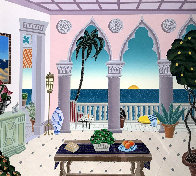 Palm Beach Suite 2 - Villa Laguna - 1991 Limited Edition Print by Thomas Frederick McKnight - 0