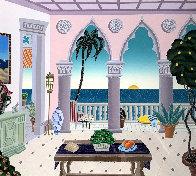 Villa Laguna - Palm Beach : 2nd Suite 1991 Limited Edition Print by Thomas Frederick McKnight - 0