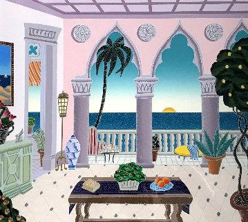 Palm Beach Suite 2 - Villa Laguna - 1991 Limited Edition Print - Thomas Frederick McKnight