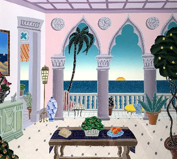 Villa Laguna - Palm Beach : 2nd Suite 1991 Limited Edition Print - Thomas Frederick McKnight