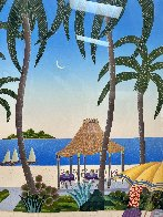Caribbean Lagoon 1996 Huge Limited Edition Print by Thomas Frederick McKnight - 3