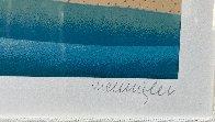 Caribbean Lagoon 1996 Huge Limited Edition Print by Thomas Frederick McKnight - 4