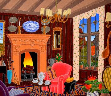 Cotswold Inn Limited Edition Print - Thomas Frederick McKnight