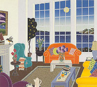 Nantucket Room AP 1989 Limited Edition Print by Thomas Frederick McKnight - 2