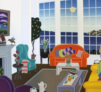 Nantucket Room AP 1989 Limited Edition Print by Thomas Frederick McKnight