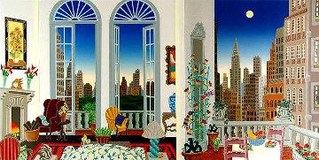 Manhattan Fantasy 1988 Limited Edition Print - Thomas Frederick McKnight