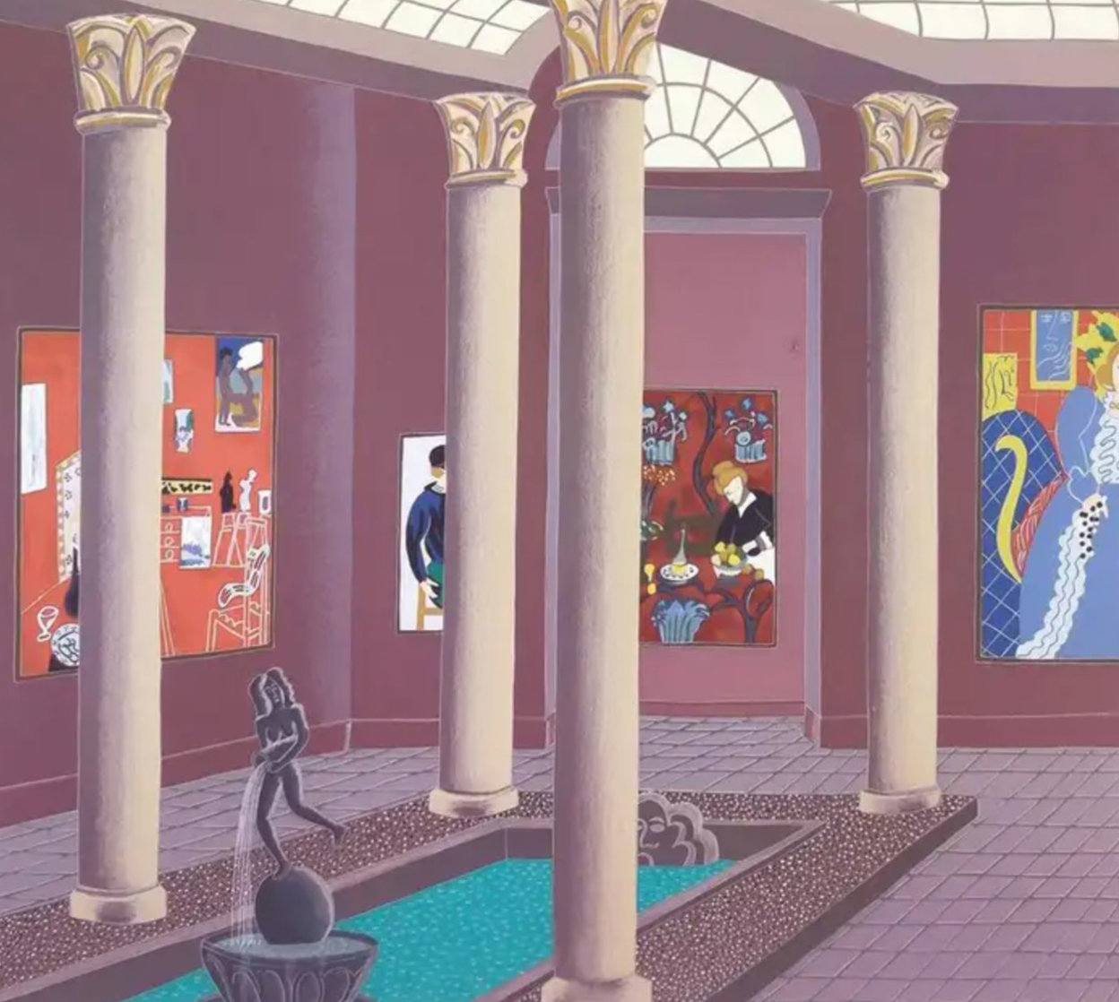 Matisse Gallery 1982 Limited Edition Print by Thomas Frederick McKnight