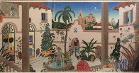Bienestar Courtyard 1989 Super Huge Limited Edition Print by Thomas Frederick McKnight - 3