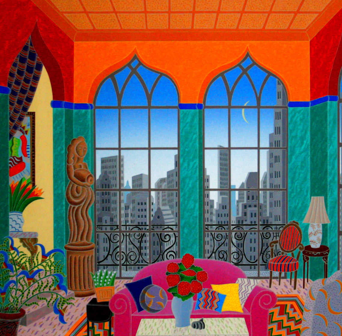 Turtle Bay 1988 Super Huge Limited Edition Print by Thomas Frederick McKnight