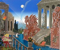 Atlantis 1987 Super Huge  Limited Edition Print by Thomas Frederick McKnight - 2