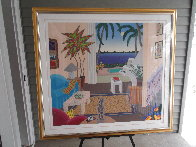 Boca Raton 1990 Huge 39x43 Super Huge  Limited Edition Print by Thomas Frederick McKnight - 1