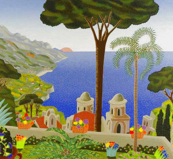 Villa Rufolo 1987 Limited Edition Print - Thomas Frederick McKnight