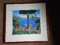 Villa Rufolo 1987 Limited Edition Print by Thomas Frederick McKnight - 1