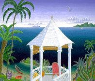 Tropical Gazebo 1995 Super Huge Limited Edition Print by Thomas Frederick McKnight - 0