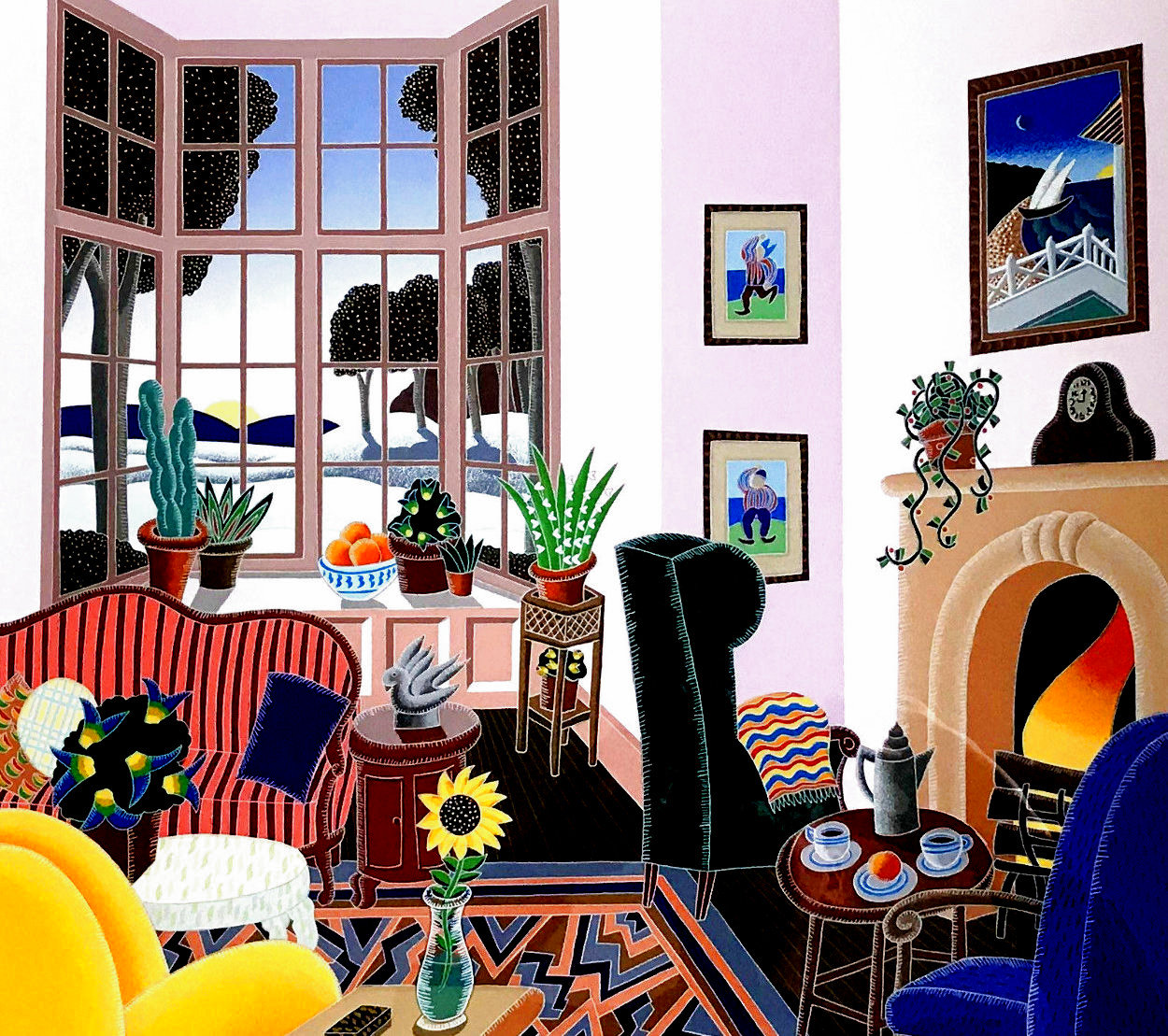Concord 1991 Limited Edition Print by Thomas Frederick McKnight
