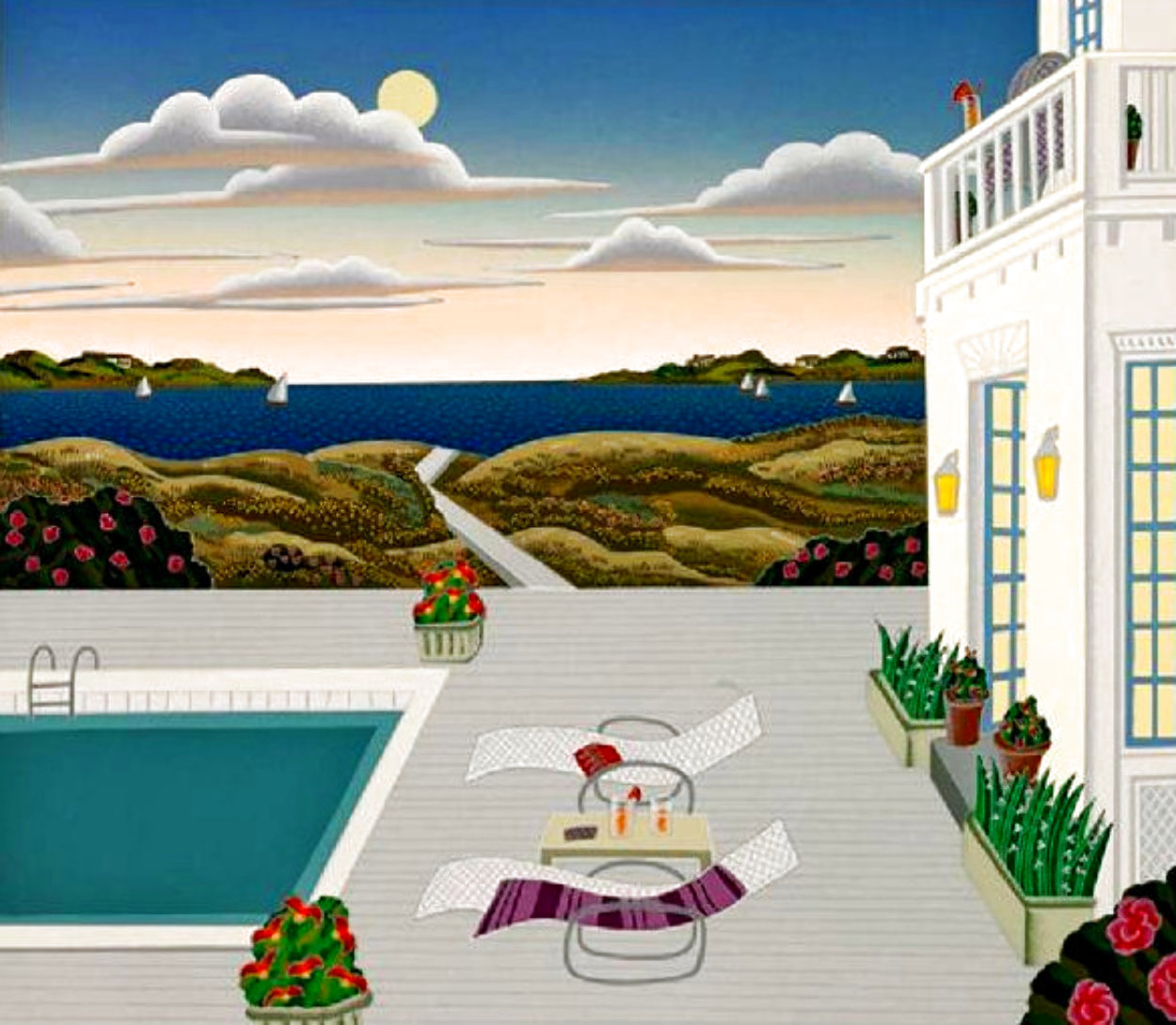 Cape Cod 1990 Limited Edition Print by Thomas Frederick McKnight