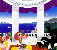 Kitano Lounge AP 1993 Limited Edition Print by Thomas Frederick McKnight - 0
