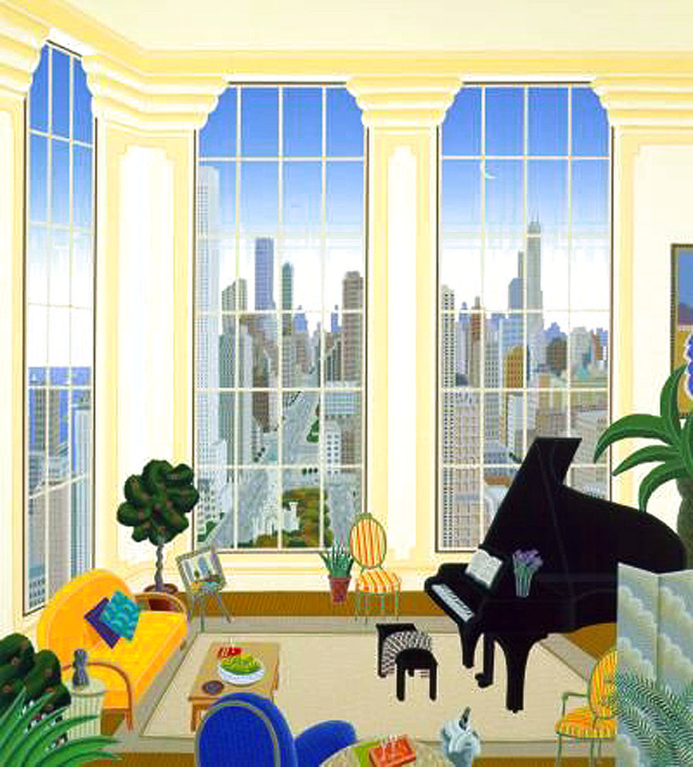 Chicago Penthouse 1996 Limited Edition Print by Thomas Frederick McKnight
