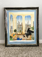 Chicago Penthouse - Huge Limited Edition Print by Thomas Frederick McKnight - 1