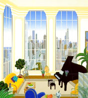 Chicago Penthouse - Huge Limited Edition Print by Thomas Frederick McKnight - 0