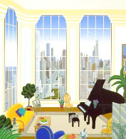Chicago Penthouse - Huge Limited Edition Print by Thomas Frederick McKnight - 2