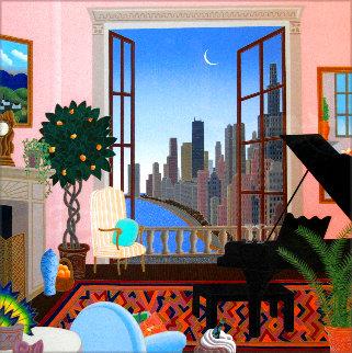 Lake Shore Drive AP 1986 (Chicago) Huge Limited Edition Print - Thomas Frederick McKnight