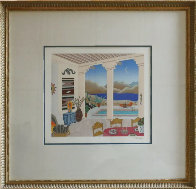 Desert Patio 1990 Limited Edition Print by Thomas Frederick McKnight - 1