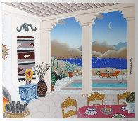 Desert Patio 1990 Limited Edition Print by Thomas Frederick McKnight - 2