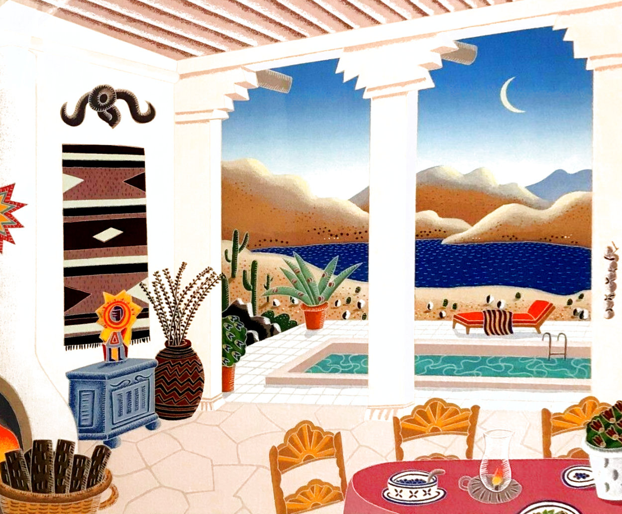 Desert Patio 1990 Limited Edition Print by Thomas Frederick McKnight