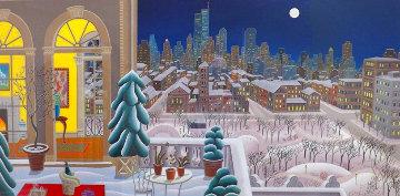 Washington Square Panorama 2012 Huge (New York) Limited Edition Print - Thomas Frederick McKnight