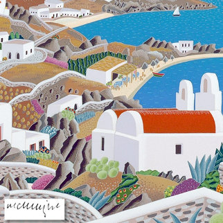 Mykonos Platy Gailosby Limited Edition Print by Thomas Frederick McKnight