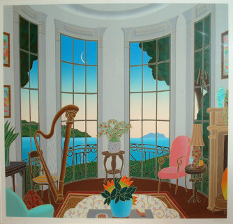 Eastern Shore (Maryland) 1986 Super Huge Limited Edition Print - Thomas Frederick McKnight