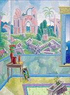 Renaissance Fresco 38x32 Super Huge Limited Edition Print by Thomas Frederick McKnight - 0