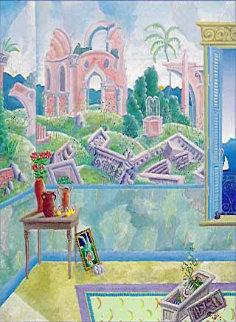 Renaissance Fresco Super Huge Limited Edition Print - Thomas Frederick McKnight