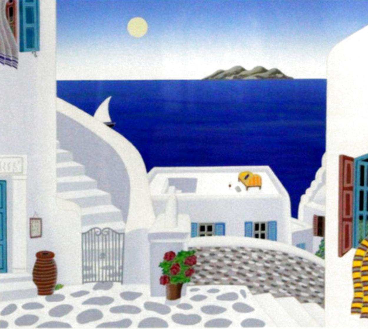 Aegean Sea 1993 Limited Edition Print by Thomas Frederick McKnight