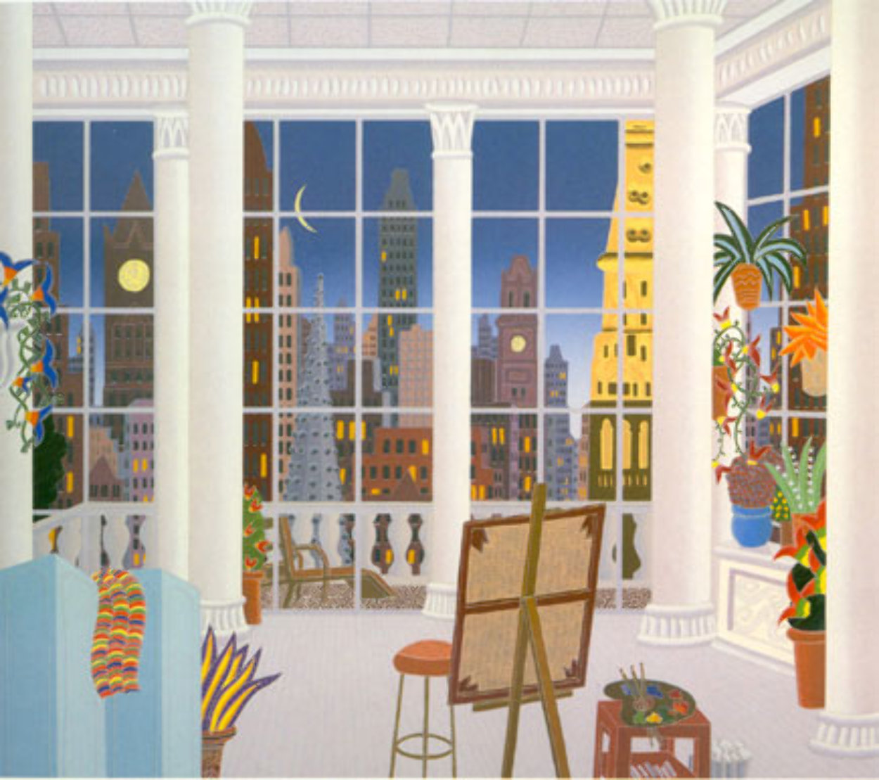Madison Square New York 1998 Super Huge Limited Edition Print by Thomas Frederick McKnight