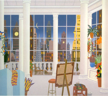 Madison Square New York 1998 Limited Edition Print - Thomas Frederick McKnight