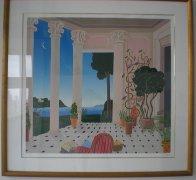 Natchez 1987 41x43 Super Huge Limited Edition Print by Thomas Frederick McKnight - 1