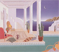 Daydreamers Suite of 4 Serigraphs Limited Edition Print by Thomas Frederick McKnight - 0