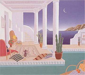 Daydreamers Suite of 4 Serigraphs Limited Edition Print by Thomas Frederick McKnight