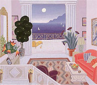 Daydreamers Suite of 4 Serigraphs Limited Edition Print by Thomas Frederick McKnight - 1