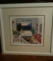 Daydreamers Suite of 4 Serigraphs Limited Edition Print by Thomas Frederick McKnight - 4