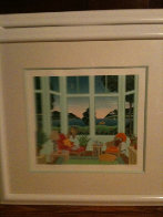 Daydreamers Suite of 4 Serigraphs Limited Edition Print by Thomas Frederick McKnight - 6
