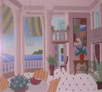 Bay of Naples 1987 Super Huge Limited Edition Print - Thomas Frederick McKnight