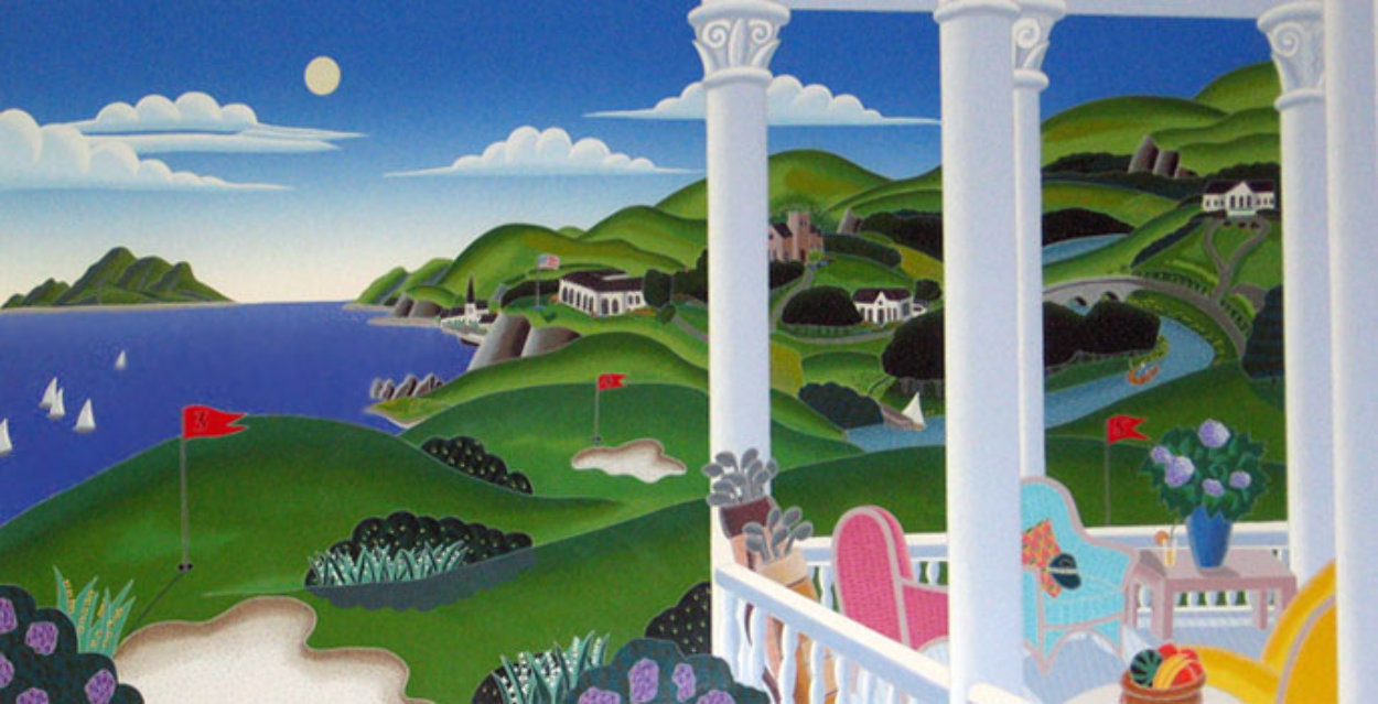Seaside Golf 1993 Super Huge Limited Edition Print by Thomas Frederick McKnight