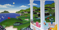 Seaside Golf 1993 Super Huge Limited Edition Print by Thomas Frederick McKnight - 0
