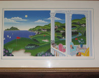 Seaside Golf 1993 Super Huge Limited Edition Print by Thomas Frederick McKnight - 1
